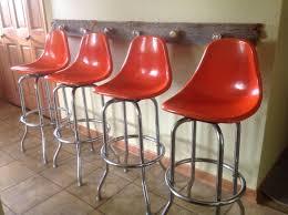 vintage bar stools for kitchen