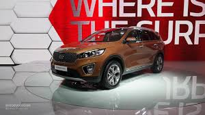 suv kia 2015 2015 kia sorento shown at the paris motor show live photos