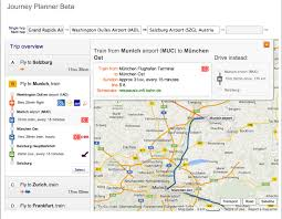 Iad Airport Map Lufthansa U0027s Journey Planner Lets You Plan Your Trip Door To Door