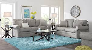 Gray Living Room Set Home Bellingham Gray 5 Pc Living Room Living Room