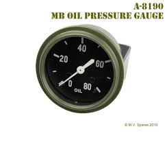 wwii jeep willys wwii jeep mb gpw gauge u2013 oil pressure u2013 willys mb a 8190