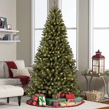 9ft pre lit spruce hinged artificial tree w 900 ul