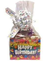 birthday baskets basket