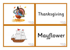 thanksgiving word mat