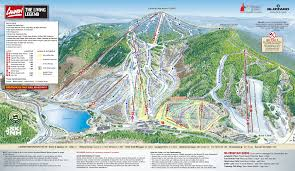 Steamboat Trail Map Cannon Mountain Powdercam Ski Resorts Guide