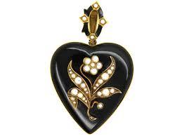 amy amethyst 18ct white gold antique lockets u0026 pendants vintage lockets u0026 pendants the