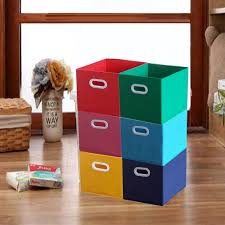 decorating with fabric storage bins u2014 the home redesign