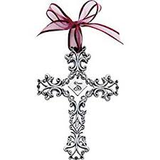 40th anniversary cross ornament beautiful