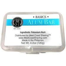 alum bar wcs basics alum aftershave bar astingent blood coagulant