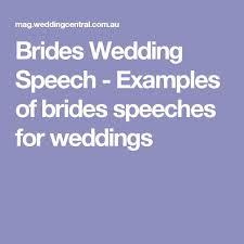 Example Of Thanksgiving Speech Best 25 Bride Speech Examples Ideas On Pinterest Wedding Speech