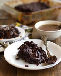 gooey chocolate caramel cake recipe pinch of yum