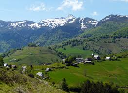 Pyrenees Mountains Map The Pyrenean Foothills Route The Confraternity Of Saint James