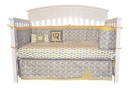 10 Piece Nursery Bedding Sets by Amazon Com Dk Leigh Owl 7 Piece Gender Neutral Crib Bedding Set