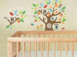 Tree Decals For Walls Nursery by Amazon Com Skip Hop Baby Treetop Friends Wall Decals Multi Baby