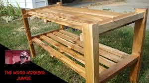 Build A Shoe Bench How To Build A Shoe Rack Youtube