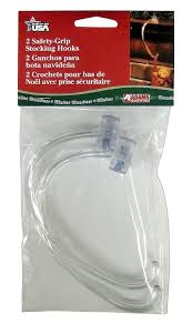 adams christmas 5730 06 1240 safety grip stocking hook 2 pack