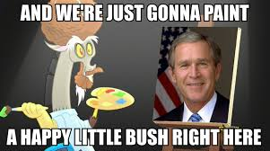 Little Meme - happy little bush my little pony friendship is magic know