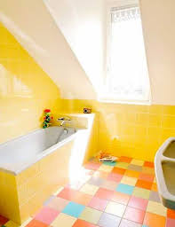 Cottage Bathroom Ideas Colors Yellow Tile Bathroom Paint Colors Yellow Tile Bathroom Paint