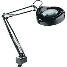 Desk Lamp With Magnifying Glass Stylish Design Magnifying Desk Lamp Extremely Inspiration