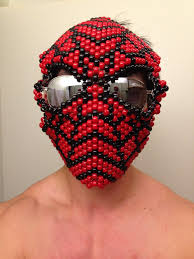 Kandi Mask Spider Man Full Kandi Mask By Guanwenchen On Deviantart
