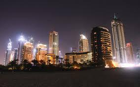 dubai city night dubai united arab emirates night house high rise