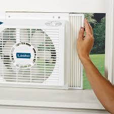 Double Window Fan Walmart by Lasko Products 8