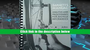 download barnett s manual analysis and procedures for bicycle