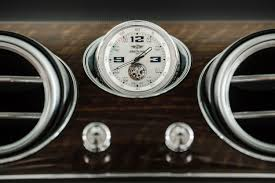 breitling bentley on wrist breitling the new bentley suv has a tourbillon in it u0027s dash clock