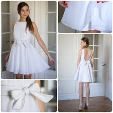robe temoin de mariage robes courtes pour mariage civil et témoins mademoiselle dentelle