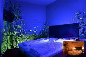 blacklight bedroom artist creates beautiful blacklight paintings that transforms rooms
