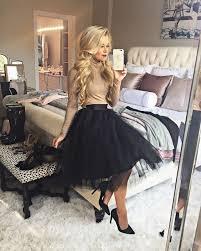 spodnica tiulowa fashion trend spódnica tiulowa sweter stylizacja idealna na
