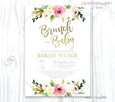 wording for brunch invitation baby shower brunch invitations 9469 plus like this item baby
