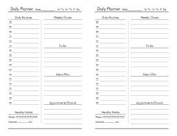 printable planner diary free printable diary pages templates printable 360 degree