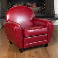 Armchair Leather Club Chairs Leather Living Room Chairs Shop The Best Deals For