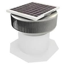 solar attic fans pros and cons active ventilation 740 cfm mill finish 10 watt solar powered 12 in