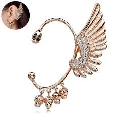 s ear cuffs the new bling ear cuffs would you wear them or not the fashion