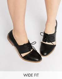 ugg boots sale asos image 1 of asos marcie leather wide fit flat shoes clothes