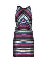 Hutch The Jeweler Metallic Jewel Striped Dress By Hutch For 30 40 Rent The Runway