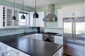 white kitchen cabinets with black granite countertops amazing