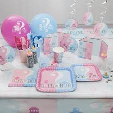 reveal baby shower gender reveal baby shower party supplies walmart