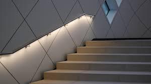 Illuminated Handrail Hilton Hotel Schiphol Airport Amsterdam Illunox