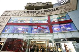 house of fraser opens first store in china news drapers