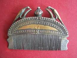 antique hair combs comb