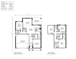 House Plan Blueprints Double Storey House Plans Design Ideas