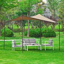 Gazebo Awning Sobuy Oss01 Freestanding Canopy Gazebo Awning Outdoor Garden