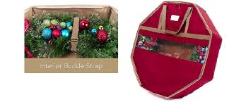 wreath storage containers time treasures