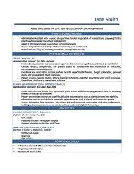 Sample Comprehensive Resume by Free Downloadable Resume Templates Resume Genius