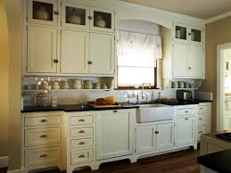 antique white kitchen cabinets with white appliances u2014 decor