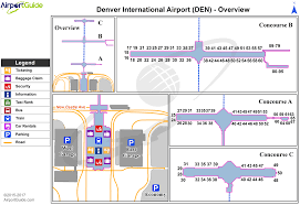 Atlanta Airport Parking Map by Dia Airport Map My Blog