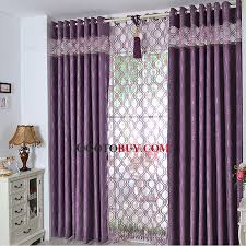 Thick Purple Curtains Simple Curtains Design Gopelling Net